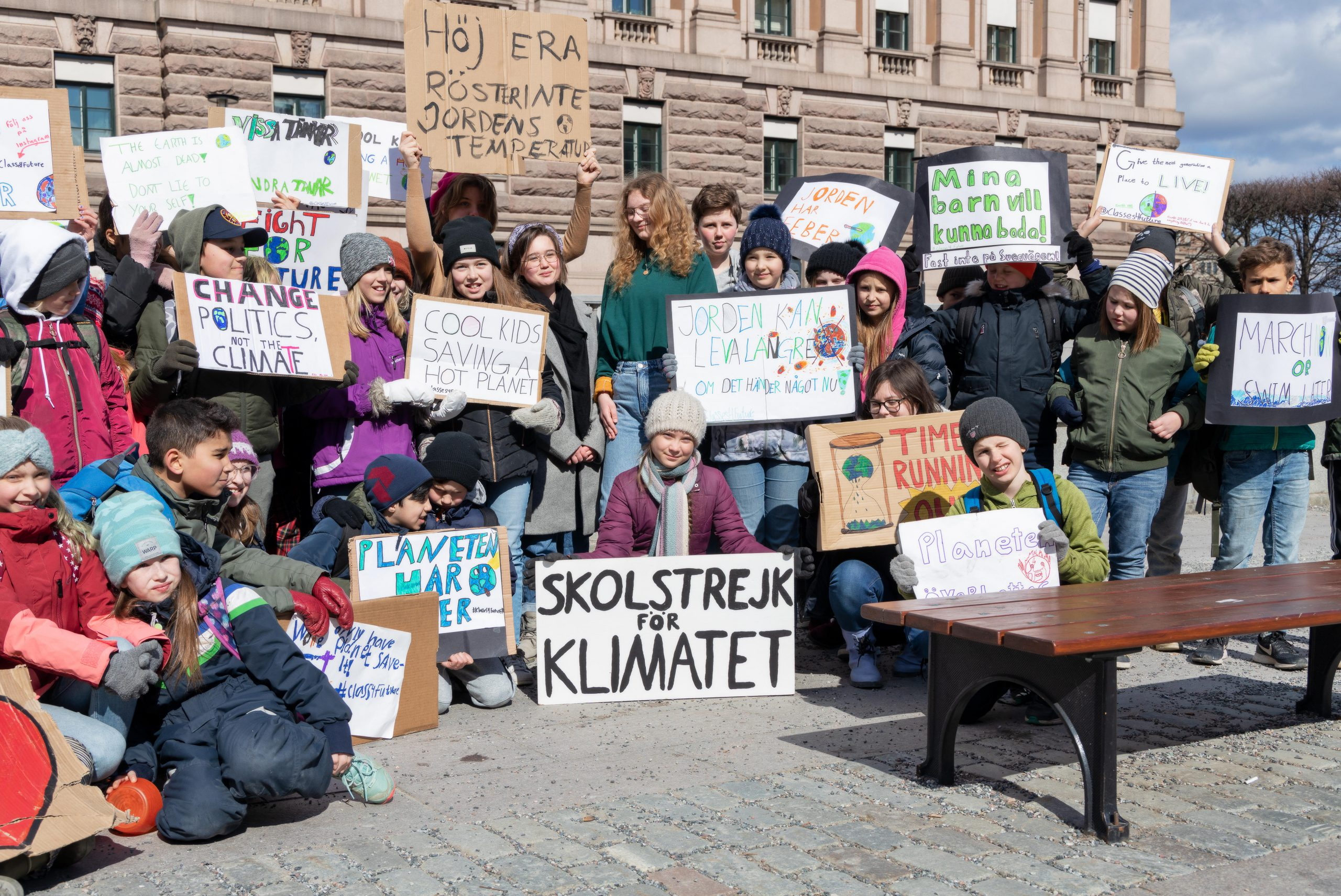 We're supporting the Global Climate Strike